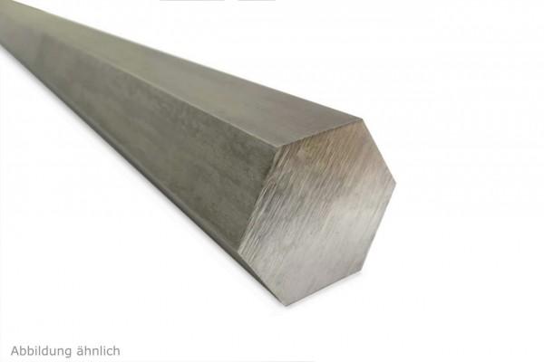 Sechskantstahl 1.4301 V2A - blank