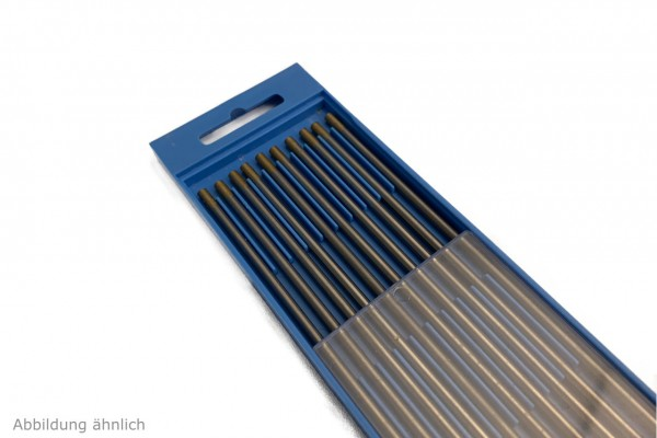 10 Stück WIG Wolframelektroden WL-15 GOLD