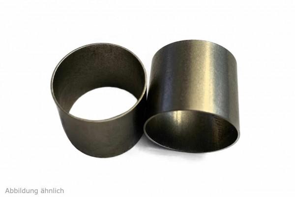 10 Stück Edelstahlrohr geschweißt - 1.4301 V2A - AD 19,0x0,5 mm, L 16,5 mm
