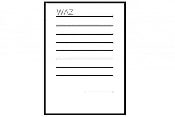 WAZ 3.1 EN 10204 für Blech 1.4841